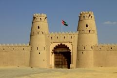 Machtig fort Al Ain AbuDhabi met kinderen