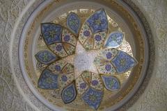 Mozaiek Sjeikh Zajed moskee Abu Dhabi met kinderen