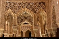Alhambra paleis Nashriden Andalusië met kinderen