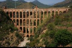 Aquaduct Nerja Andalusië met kinderen