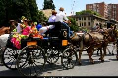 Feestje in Granada Andalusië met kinderen