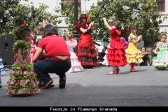 Flamengo leren Andalusië met kinderen