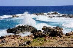 Geweld aan de kust Aruba met kinderen