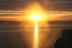 Australië Fraser Island zonsondergang