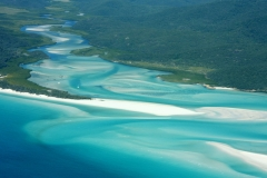 Australië awesome Whitehaven beach Whitsundays