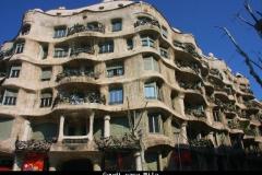 Gaudi casa Mila Barcelona met kinderen