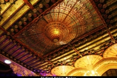 Plafond palau Musica Barcelona met kinderen
