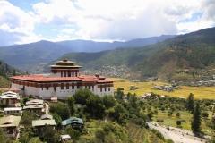 Faro dzong en vallei