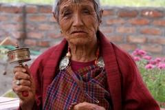 Gebed Bhutan met kinderen