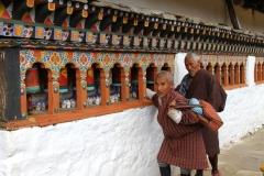 Gebedsmolens Bhutan