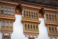 Punakha dzong Bhutan met kinderen