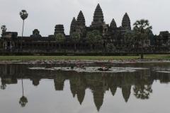 Angkor Wat Cambodja vroege ochtend