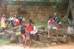 Angkor Wat scholieren