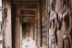 Angkor Wat van binnen Cambodja