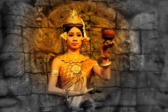 Apsara schoonheid Cambodja