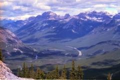 Banff schoonheid Canada met kinderen