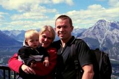 Banff Canada met kinderen