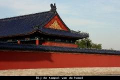 Bij de tempel van de hemel Beijing met kinderen