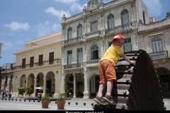 Havanna centraal Cuba met kinderen