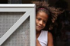 Havanna lieve meisje Cuba met kinderen
