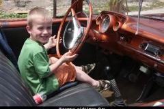 Havanna oldtimerfun Cuba met kinderen