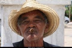 aaah sigaartje Cuba met kinderen