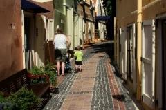 Kura Hulanda Willemstad Curacao met kinderen