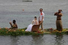 Fiji met kinderen bruiloft geluk