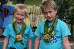 Fiji met kinderen happy
