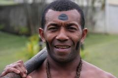Fiji met kinderen kannibaal