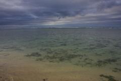 Fiji met kinderen koraal