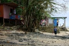 Fiji met kinderen leven in de dorpjes