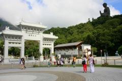 Hong Kong big buddha klooster