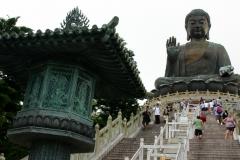 Hong Kong big buddha lantau eiland