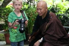 Hong Kong bijzondere ontmoeting 'met de kinderen op reis'