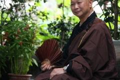 Hong Kong monnik po lin klooster lantau eiland
