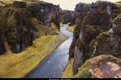 Canyon beauty IJsland met kinderen