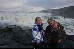 Geweld IJsland met kinderen