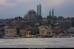 Skyline Istanbul met kinderen