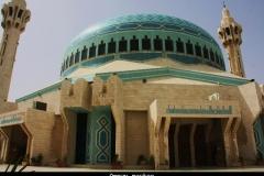 Amman moskee Jordanië met kinderen