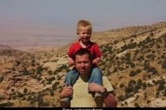 Dana rummana campsite Jordanië met kinderen