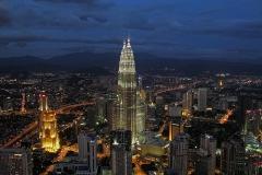 Kuala Lumpur met kinderen uitzichten