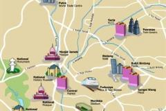 Plattegrond Kuala Lumpur met kinderen