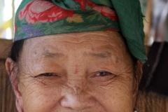 Hmong Laos dorp