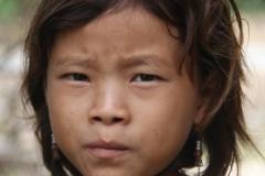 Hmong jong meisje Laos