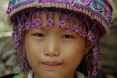 Hmong meisje Laos