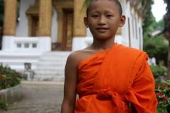 Jonge monnik Luang Prabang Laos