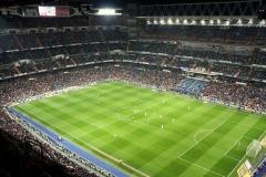 Real Madrid met kinderen