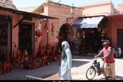 In de souk Marokko met kinderen