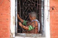 Boos Kathmandu Nepal met kinderen